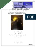PROTOCOLO DE BIOSEGURIDAD COVID - 19 CARBONES MARQUEZ S.A.S. MINA HUASAYE