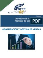 UNIDAD III. Organizacion y Gestión de Ventas