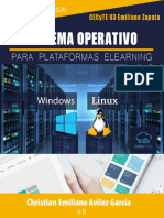 SO para Plataformas E-learning