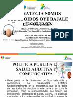 ESTRATEGIA  SOMOS TODOS OIDOS