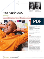 Teradata Magazine-The Lazy DBA