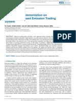 Yuan - Design and Implementation on Hyperledger-based Emission Trading System