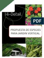 Catalogo Propuesta Jardin Vertical