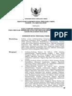 SK Gubernur tentang Kuota PPDB 2020 Final