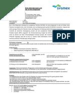 IVD-Informationsblatt XN-10
