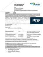 IVD-Informationsblatt XN-1000