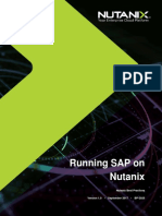 Best Practices - SAP on Nutanix