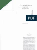 246404725 La Politica Exterior Del Peru 1 Lectura 2