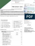 Macros e Programação VBA no Excel - Curso Básico e Prático _ Udemy