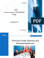 US-China Trade Tensions and Potential Spillovers