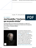 Koudelka entrevista