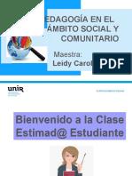 4 Y 5 PRESENTACIÓN PSICOPEDAGOGÍA SOCIAL Y COMUNITARIA.ppt