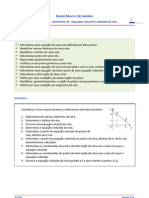 Guia de Estudo - Geometria 10 - Equacao Vetorial e Reduzida Da Reta No Plano V1.0a