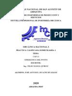 CARATULA DE  MECANICA RACIONAL 2