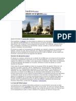 Prácticas y costumbres de la iglesia adventistas