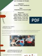 VISITAS A DOMICILIO - SALUD COMUNITARIA