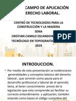 ORIGEN Y CAMPO DE APLICACIÓN DEL DERECHO LABORAL