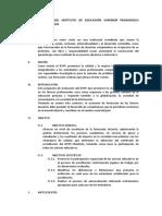 PLAN ESTRATEGICO DEL INSTITUTO DE EDUCACIÓN SUPERIOR PEDAGÓGICO PÚBLICO