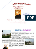 Stilul educaţional al Sfântului Luigi Orione