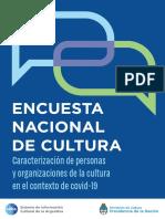 Encuesta Nacional de Cultura