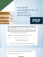 2.1 Topología