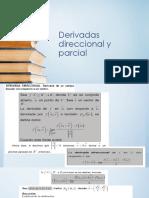 2.3 Derivadas direccional y parcial
