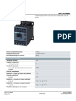 7.- Contactor de Auxiliar 3RH21222BB40