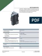 12.- Modulo Profibus 6ES71556BA000CN0