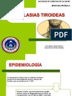 Neoplasias tiroideas