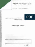 Diseño y construcción de RDC BT y MT - ELFEC.pdf