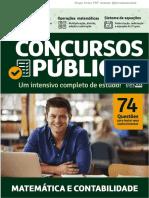 Concursos Públicos Matemática e Contabilidade