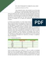 Contaminación minera en el Perú