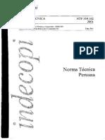 NTP 339.162-Guía estandar para caracterización de suelos para fines de  diseño de ingeniería y construcción