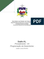 Procedimento Contábil 03 - Programação de Desembolso Orçamentária(1)