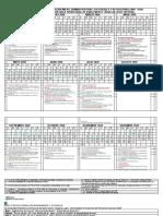 DIRECCION DE FORMACION DOCENTE, CALENDARIO DE ACTIVIDADES 2020
