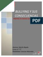 PROYECTO. EL BULLYING Y SUS CONSECUENCIAS 2