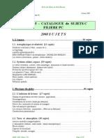 PC_sujets_C_2005