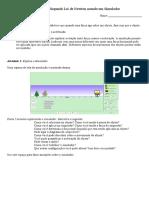 Questionário Simulador Experimental-Força e Movimento
