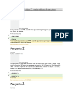 Examen Unidad 3 Mtematica Financiera