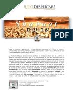 Shavuot. Pentecostés