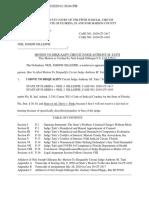 Verified Motion to Disqualify Circuit Judge Anthony Tatti