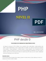 PHP NIVEL II