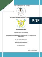 IMPLEMENTACIÓN DEL MANTENIMIENTO PRODUCTIVO TOTAL EN LA  EMPRESA TALLER RAMOS UNIDOS.