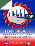 Handbook on Workers Statutory Monetary Benefits 2020 edition