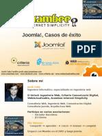 Presentación de casos de éxito Joomla! en el Joomla!Day 2010 Valencia