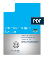 Referencer for Auditing & Ethics