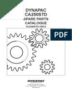 CA 250 Spare Parts Catalogue Sca250std-1en