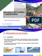 2.- CLASE- PROPIEDADES FLUIDOS