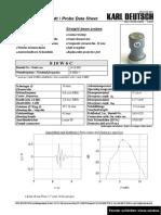S 10 W6C - Data sheet