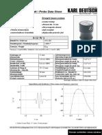 S 12 W1 - Data sheet